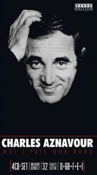 Cover Charles Aznavour - Moi j'fais mon rond [4CD-Set]